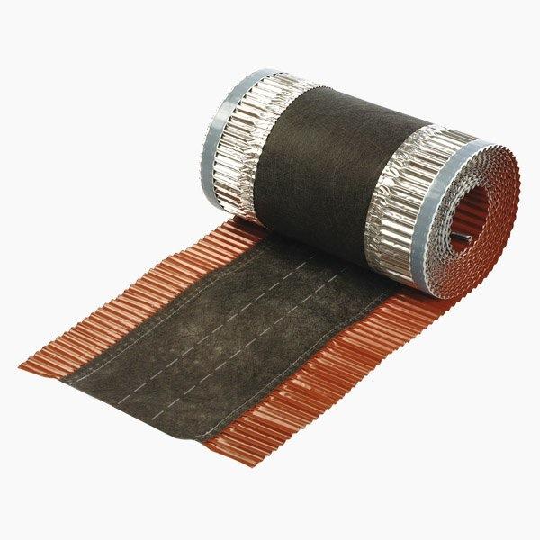 Closoir souple aluminium ventil/é largeur 390 mm