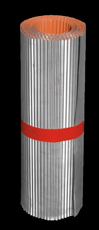 bobine plomb pliss laqu rouge 400x5000x0 5 mm roofworld. Black Bedroom Furniture Sets. Home Design Ideas