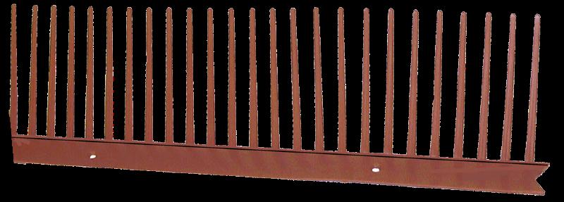 peigne pare moineau 80 mm rouge roofworld. Black Bedroom Furniture Sets. Home Design Ideas